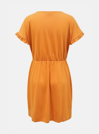 Oranžové šaty Jacqueline de Yong Karen