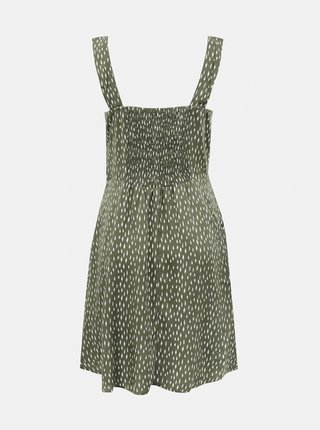 Zelené vzorované šaty Jacqueline de Yong Staar