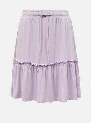 Svetlofialová sukňa Pieces Neora