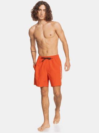 Oranžové plavky Quiksilver