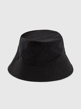 Černý klobouk Pieces Tomma