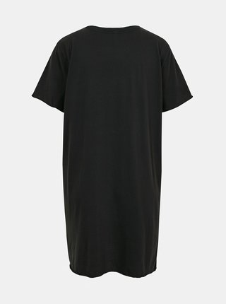 Čierne šaty s potlačou ONLY Lucy