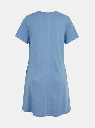 Modré šaty s vreckami ONLY May