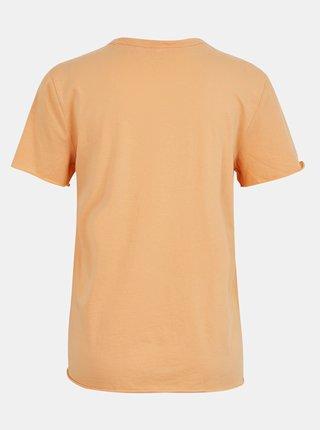 Oranžové tričko s nápisem ONLY Fruity