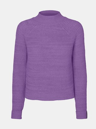 Fialový sveter Noisy May Siesta
