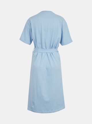 Svetlomodré šaty so zaväzovaním AWARE by VERO MODA
