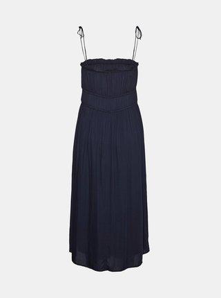 Tmavomodré šaty VERO MODA Helyn