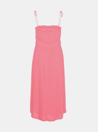 Růžové šaty VERO MODA Helyn
