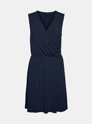 Tmavě modré šaty VERO MODA Haidy