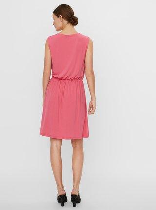 Růžové šaty VERO MODA Haidy