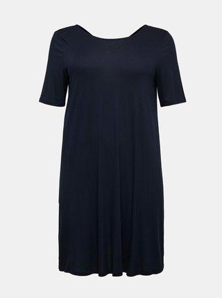 Tmavě modré šaty ONLY CARMAKOMA Bandana