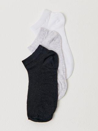 Ponožky pre ženy CAMAIEU - čierna, biela