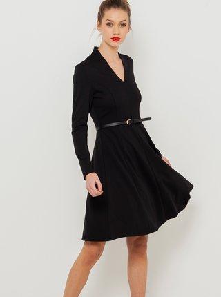 Šaty do práce pre ženy CAMAIEU - čierna