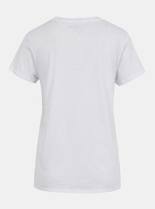 Bílé dámské tričko s potiskem Guess Odette Tee
