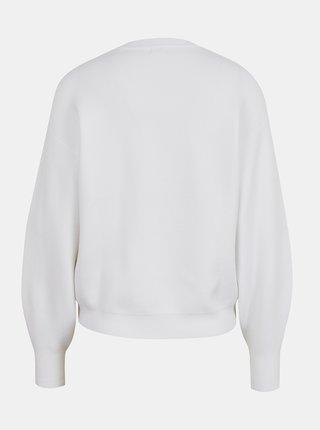 Bílý dámský svetr s nápisem Guess Beatrice