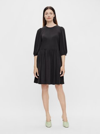 Čierne šaty .OBJECT Jannie