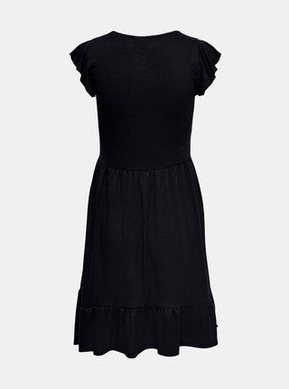 Černé šaty s volány Jacqueline de Yong Ditte