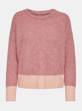 Růžový svetr Jacqueline de Yong Hudson