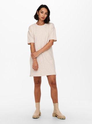 Béžové šaty Jacqueline de Yong Gloria