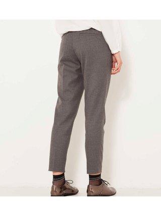 Šedé zkrácené kalhoty CAMAIEU