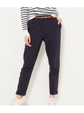 Tmavě modré kalhoty CAMAIEU