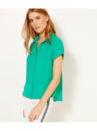 Zelená košeľa CAMAIEU