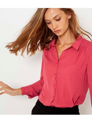 Tmavě růžová košile CAMAIEU