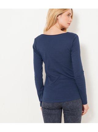 Topy a tričká pre ženy CAMAIEU - tmavomodrá