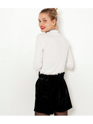 Bílé tričko se stojáčkem CAMAIEU