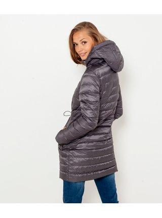 Kabáty pre ženy CAMAIEU - sivá