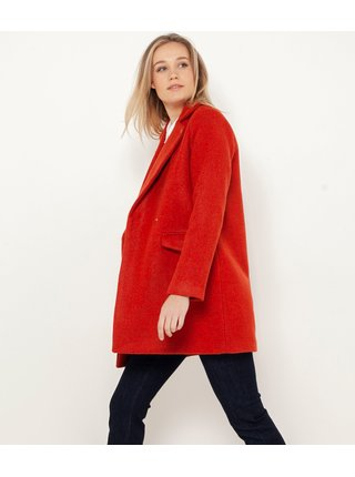 Červený kabát CAMAIEU