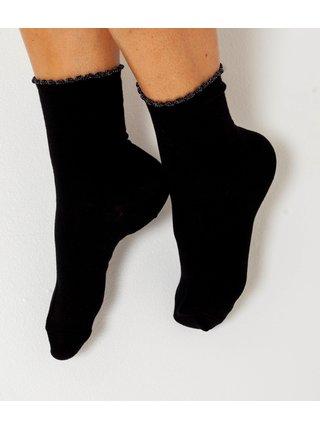 Černé ponožky CAMAIEU