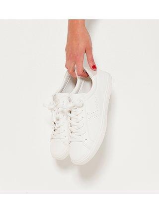 Bílé tenisky CAMAIEU