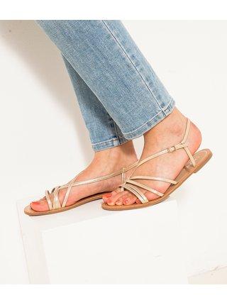 Sandále pre ženy CAMAIEU - béžová