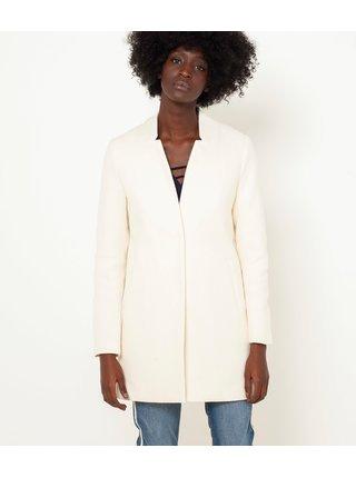 Biely ľahký kabát CAMAIEU