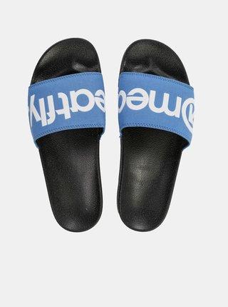 Modré pánské pantofle Meatfly Hudson