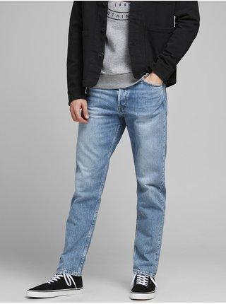 Světle modré straight fit džíny Jack & Jones Chris