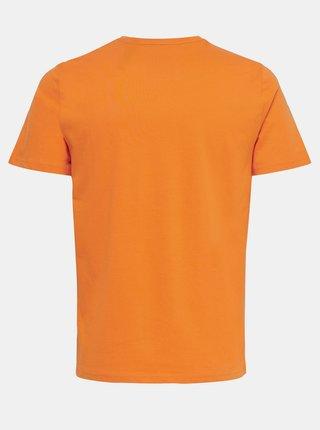 Oranžové tričko s potiskem ONLY & SONS Turner