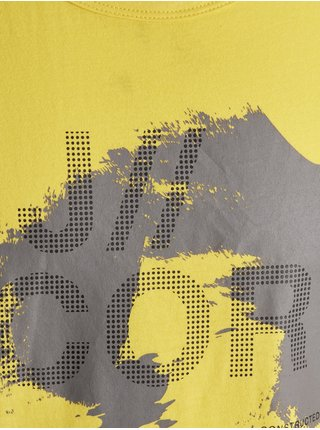 Tielka pre mužov Jack & Jones - žltá