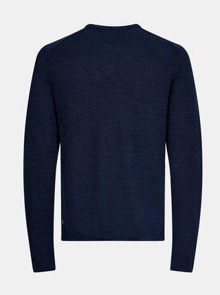 Modrý sveter ONLY & SONS Niko