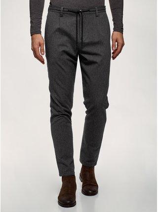 Kalhoty rovné s pružným pasem OODJI