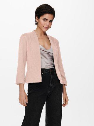 Světle růžové sako ONLY Chole-Anna
