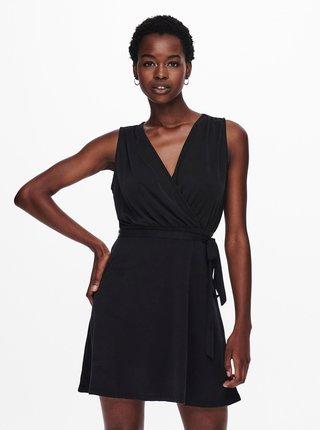 Čierne šaty ONLY Willow