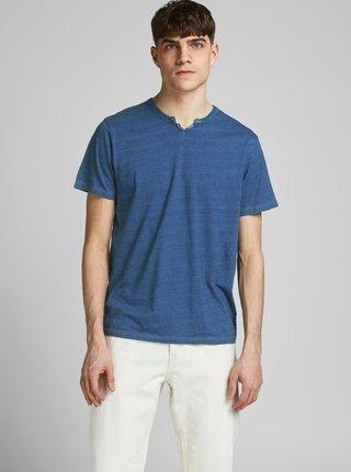 Modré  tričko Jack & Jones Prince