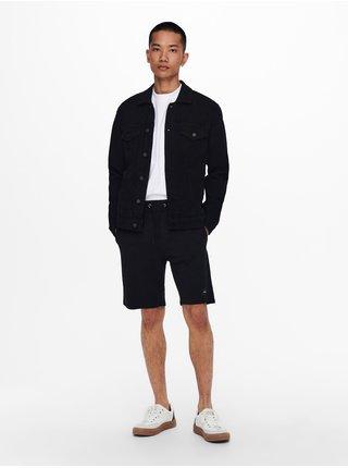 Černá lehká bunda ONLY & SONS Coin