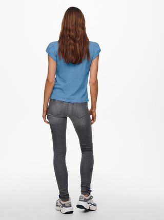 Modré tričko ONLY New Nora
