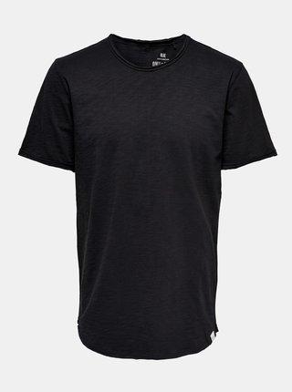 Čierne basic tričko ONLY & SONS Benne