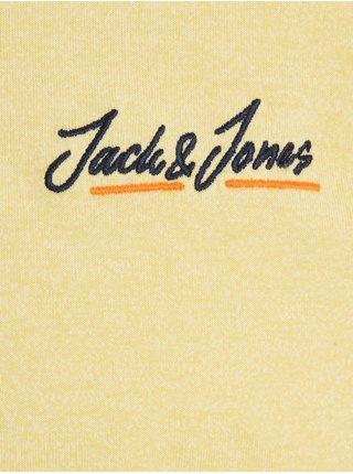 Žltá polokošeľa Jack & Jones Tons