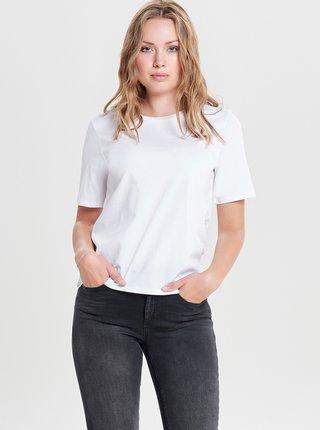Biele basic tričko ONLY Only Life