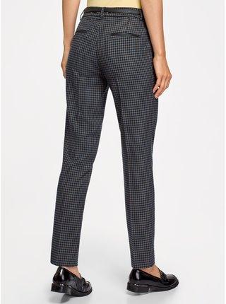 Kalhoty rovné kostkované OODJI